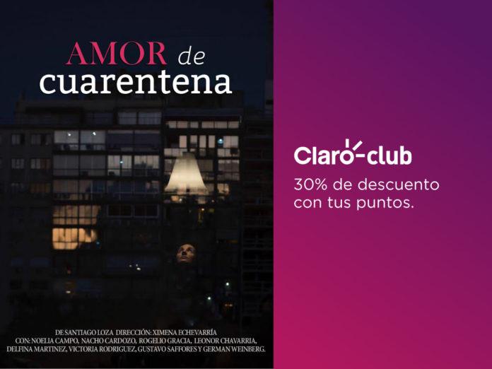 """Claro Club ofrece un 30% de descuento en entradas para la obra """"Amor de cuarentena"""""""
