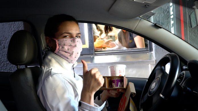 McDonald's entregó más de 60 mil menús