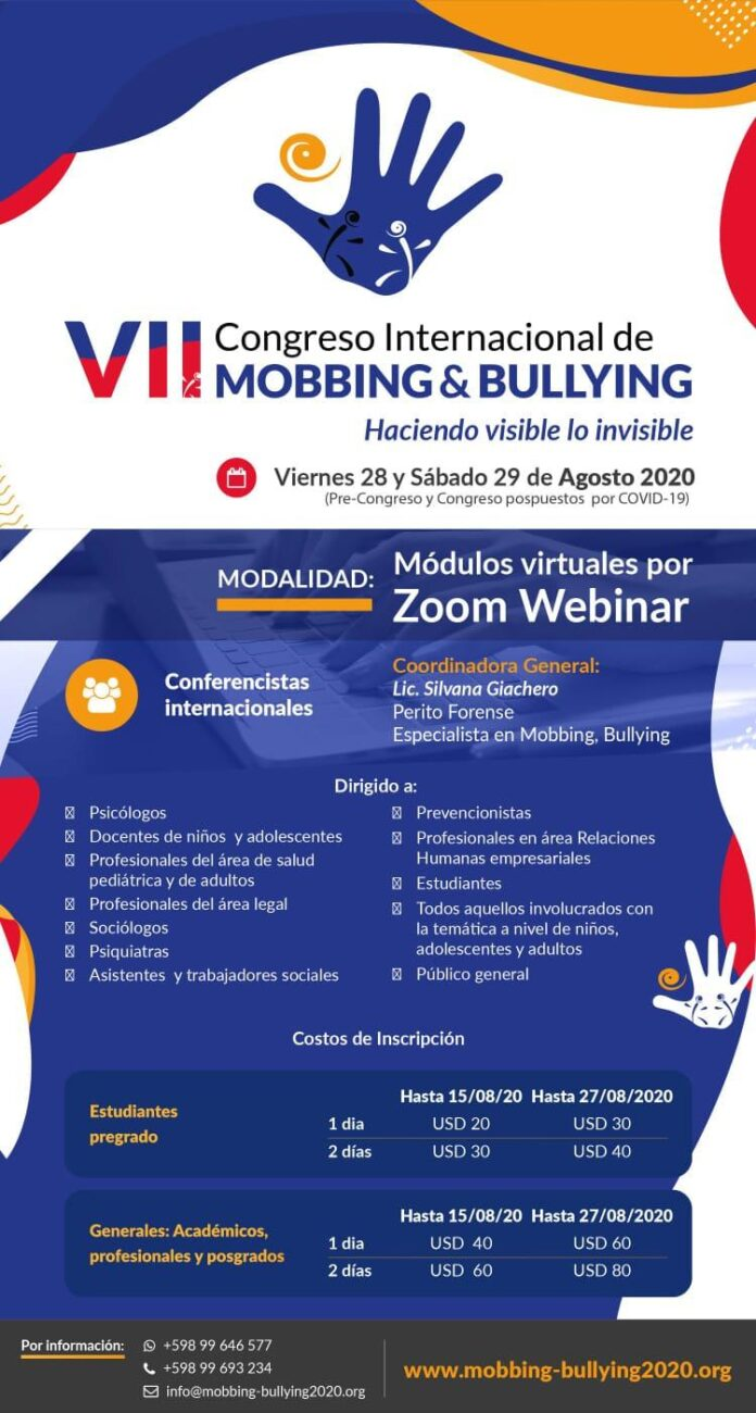 congreso mobbing bullying - neturuguay