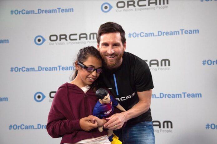 Messi junto a Avril