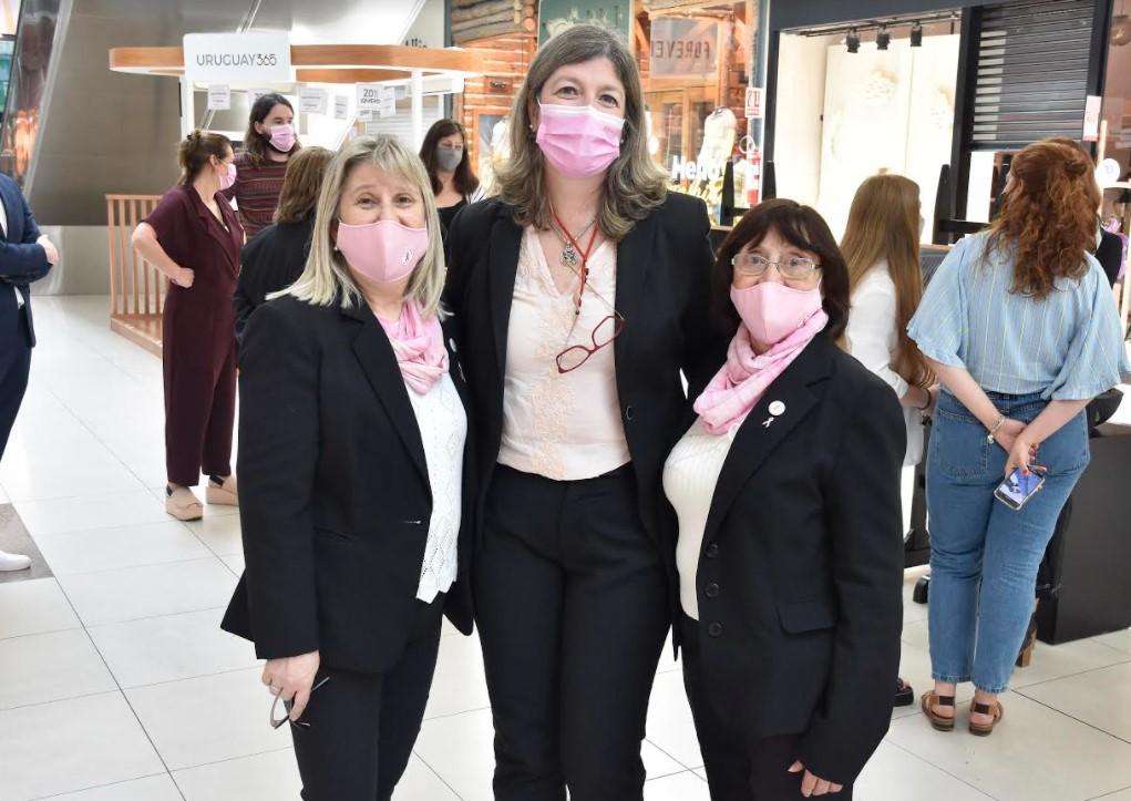 Sonia Waisrub , Selva Sanabia, Eliselba Paredes